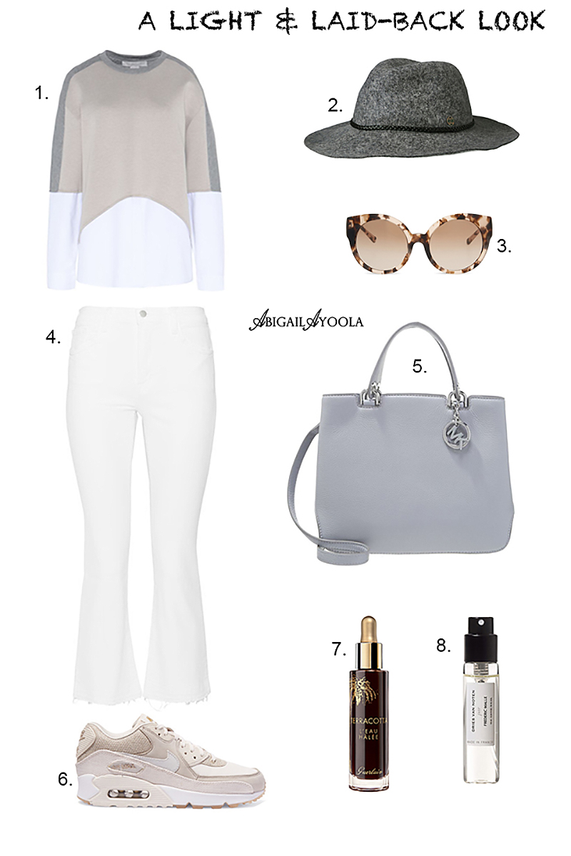 A LIGHT & LAID-BACK LOOK