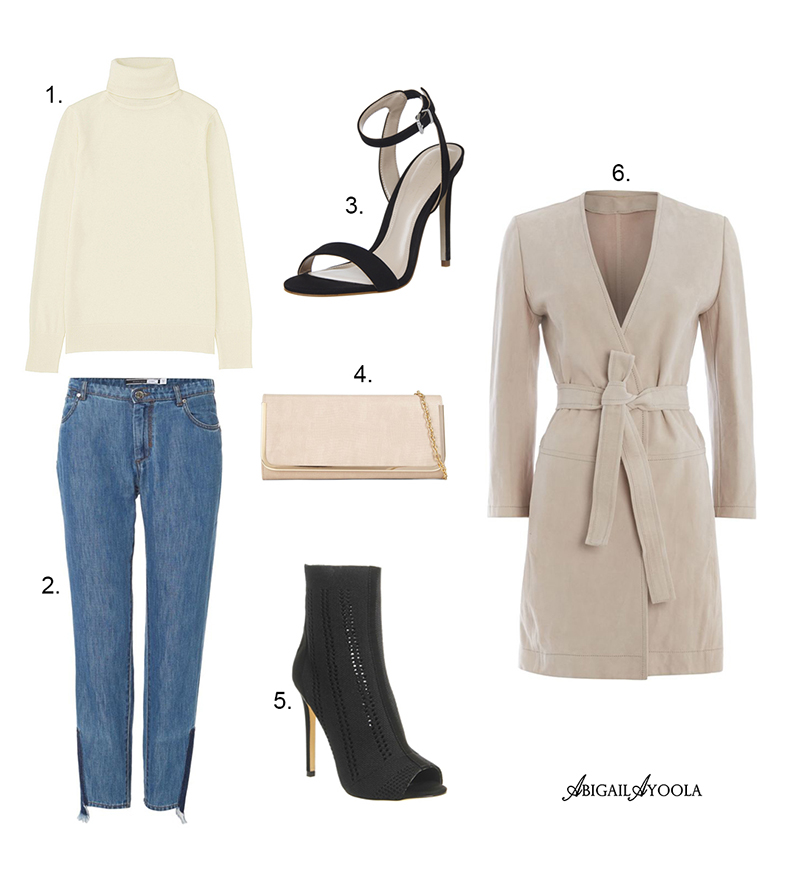 A CAMEL COAT & FRAYED JEANS OUTFIT INSPIRATION