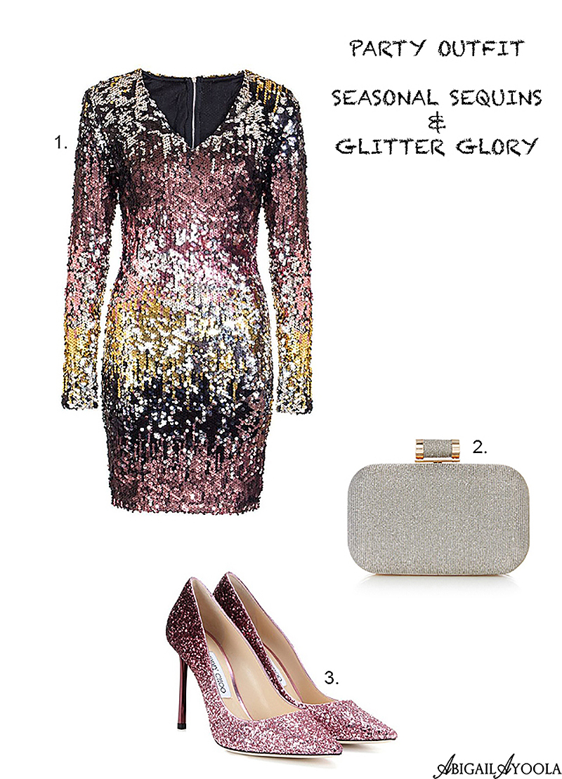 PARTY SEASON SEQUINS OUTFIT