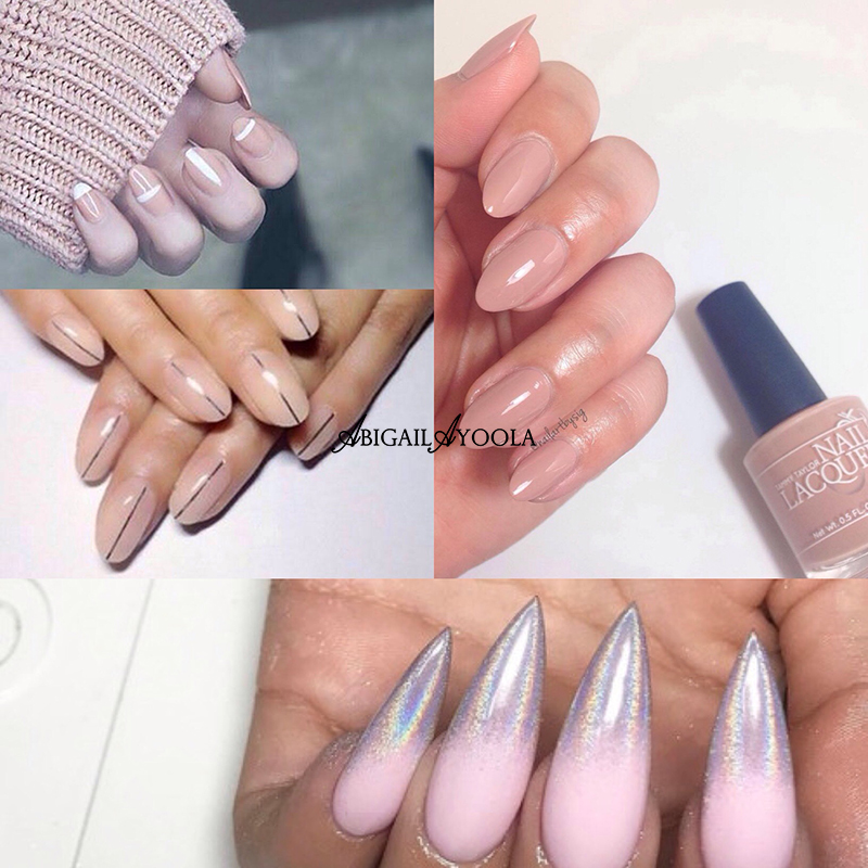 THE TOP NAIL TRENDS OF 2017 - NUDES