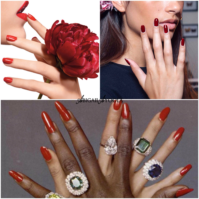 THE TOP NAIL TRENDS OF 2017 - RAVISHING RED NAILS
