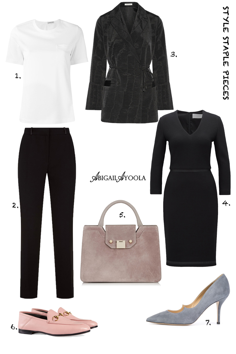 WARDROBE STAPLES EVERY WOMAN NEEDS