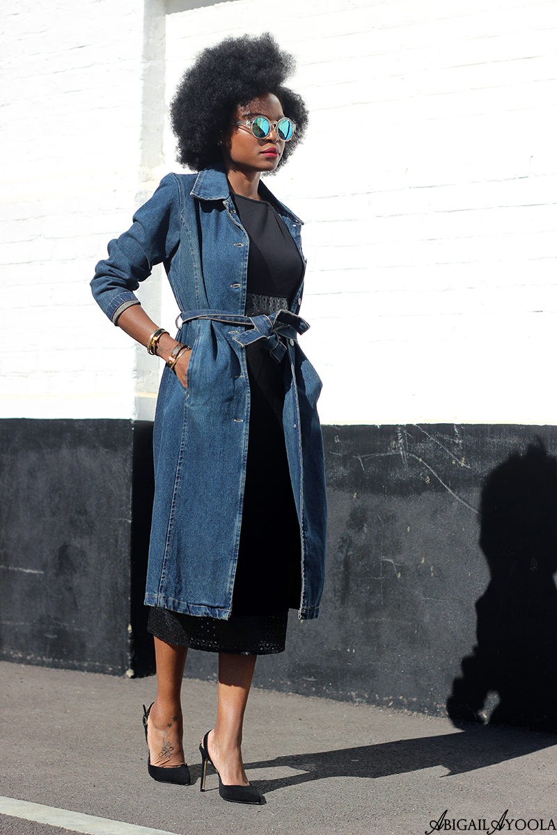 HOW TO STYLE A LONGLINE DENIM JACKET
