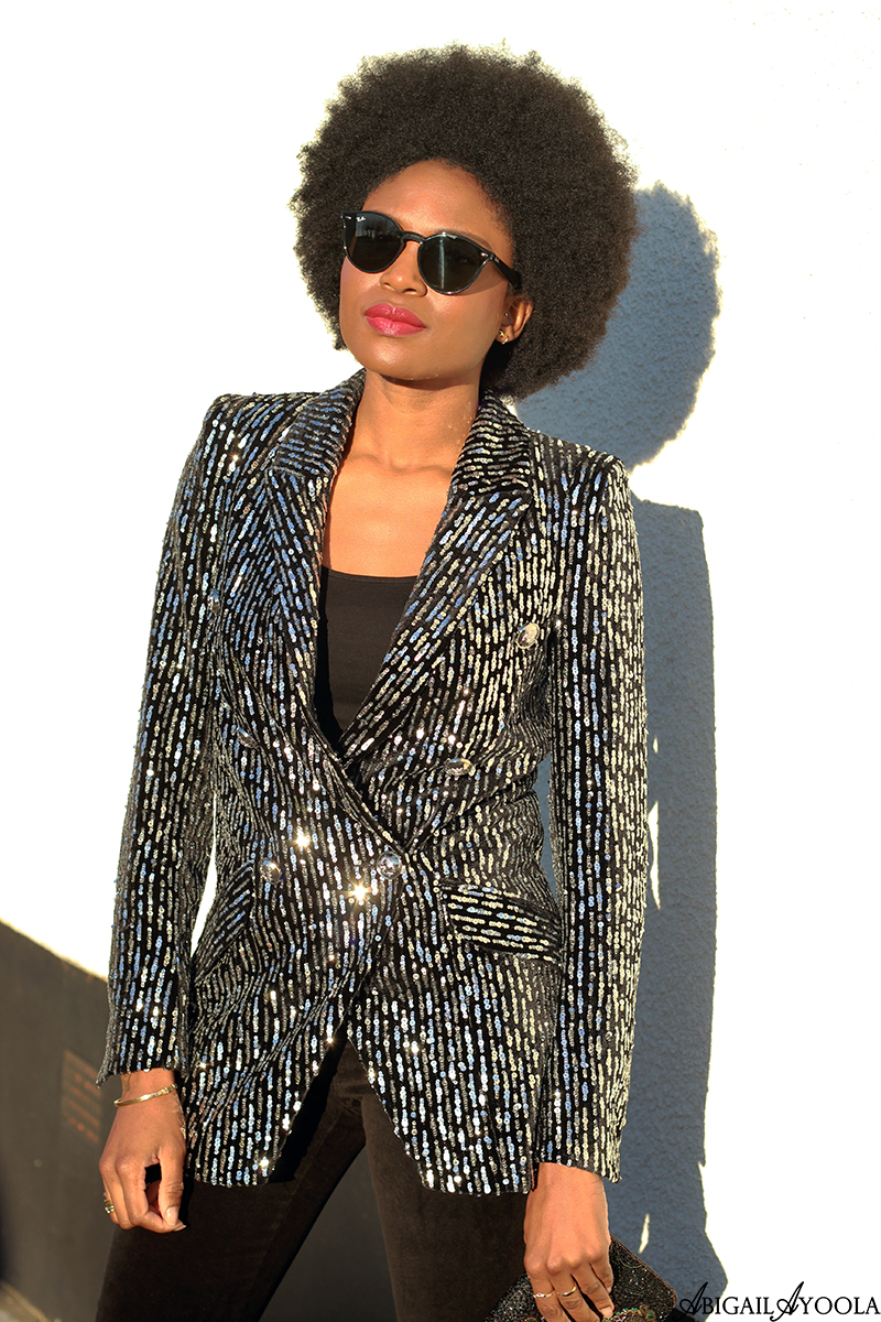 HOW TO WEAR A SEQUIN BLAZER