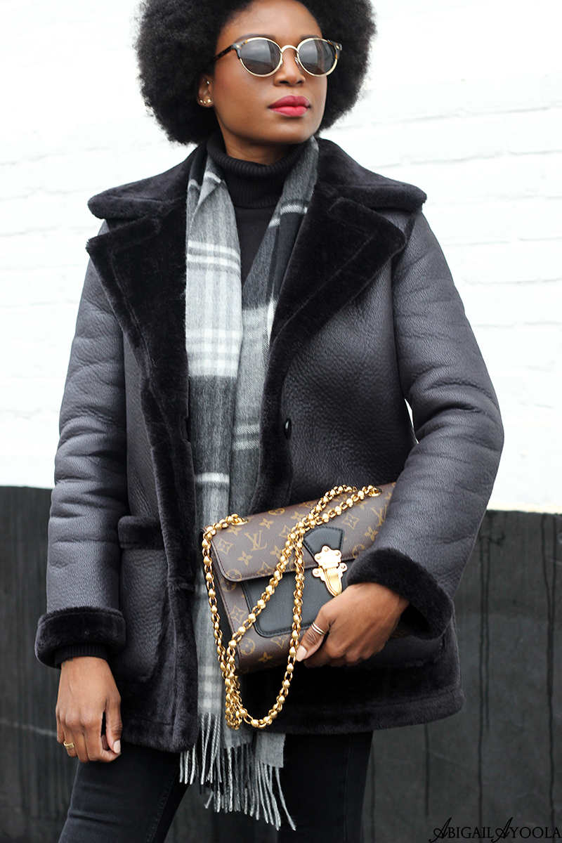 ALL BLACK WINTER OUTFIT | WORN BY FASHION STYLIST ABIGAIL AYOOLA