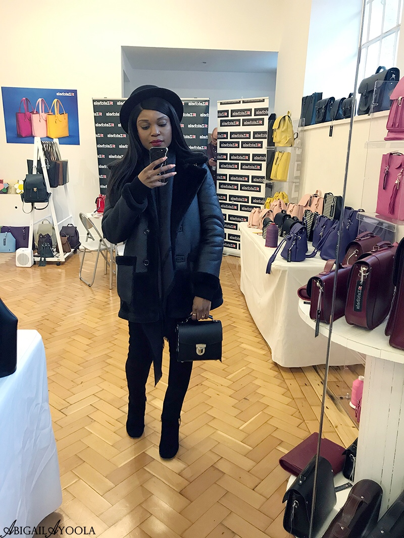 FASHION BLOGGER ABIGAIL AYOOLA AT CICI PR SS19 PRESS DAY