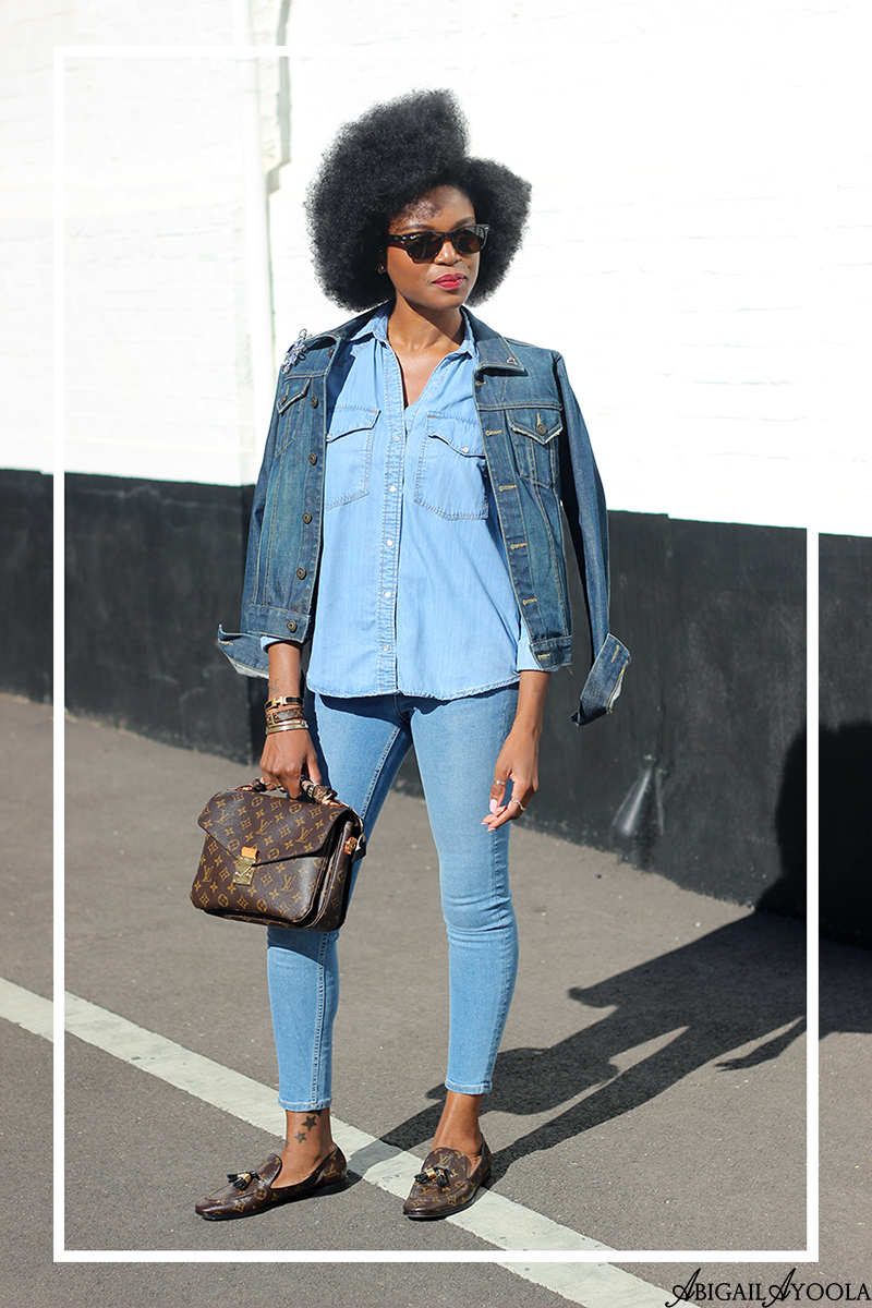 HOW TO WEAR TRIPLE DENIM FOR SPRING