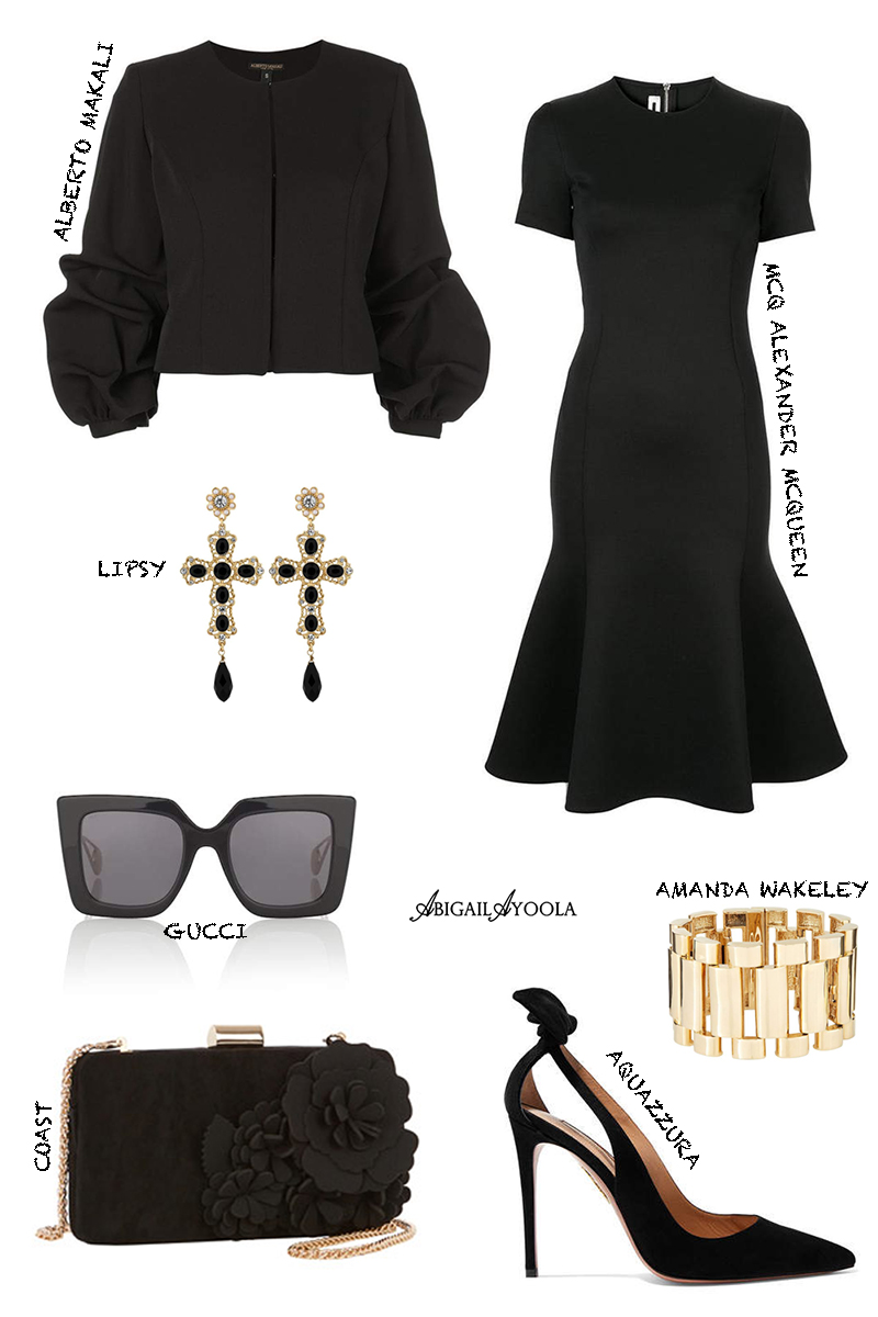 WHAT TO WEAR TO A FUNERAL -  OUTFIT INSPIRATION