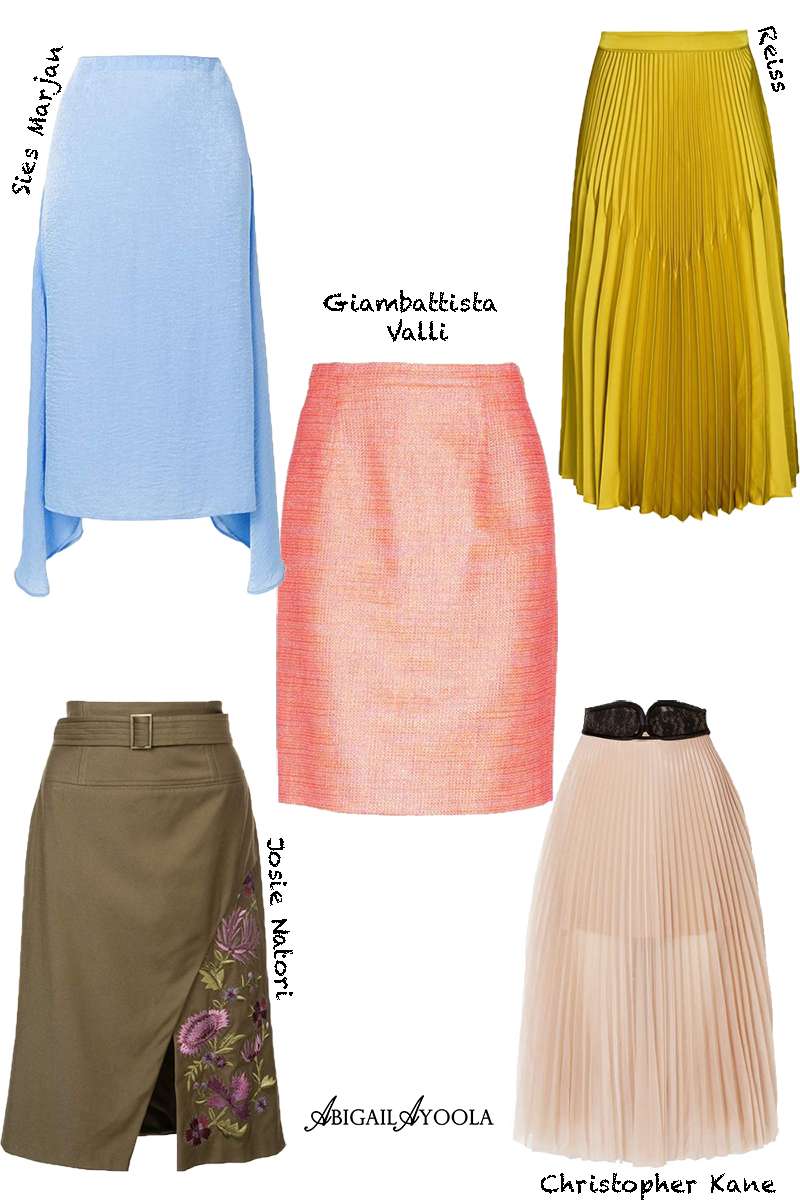 5 SPRING SKIRTS YOU NEED