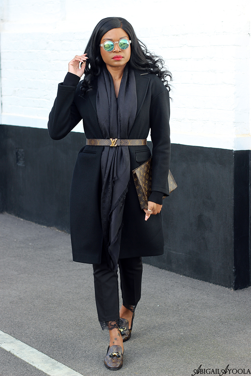 BLACK OUTFIT FOR THE LAST DAYS OF WINTER | WORN BY ABIGAIL AYOOLA