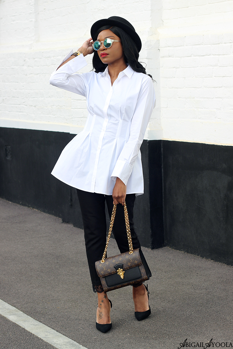 HOW TO WEAR A CLASSIC WHITE SHIRT WITH A TWIST