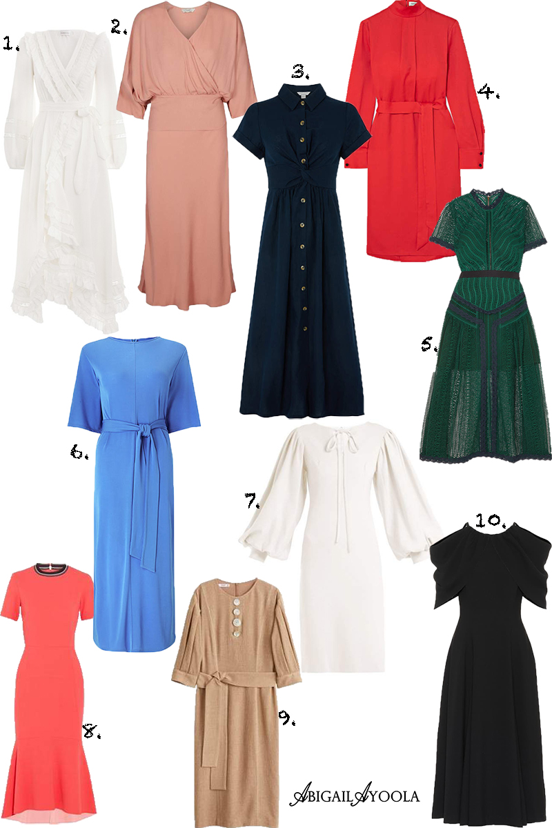 TOP TEN SPRING DRESSES