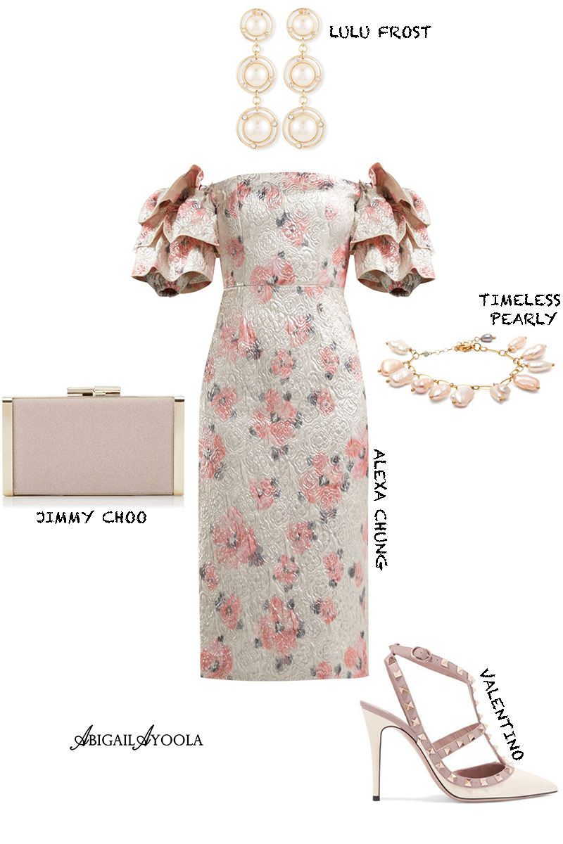 WHAT TO WEAR TO A SPRING WEDDING OUTFIT INSPIRATION