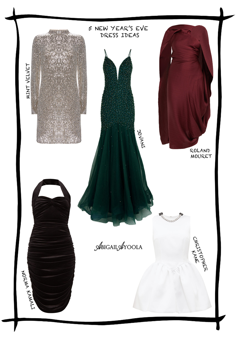 5 NEW YEAR'S EVE DRESS IDEAS